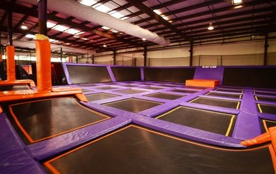 Trampoline Park hosts wounded warriors and their families.