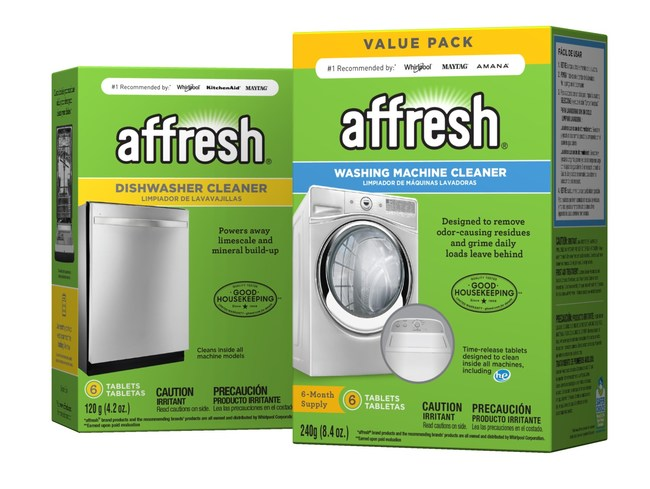 affresh(r) Washing Machine Cleaner and affresh(r) Dishwasher Cleaner