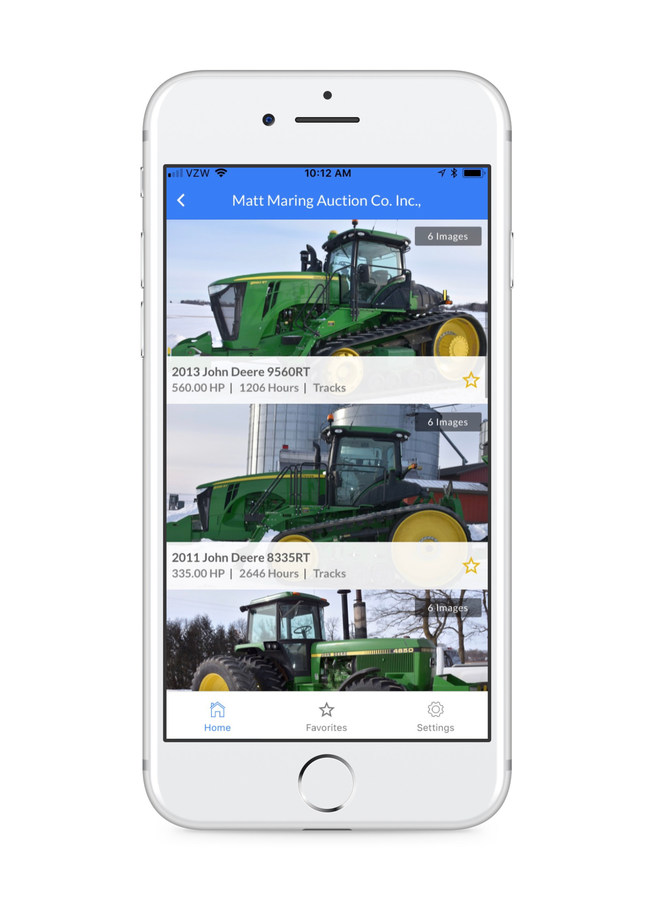 Search farm equipment for sale at auction.