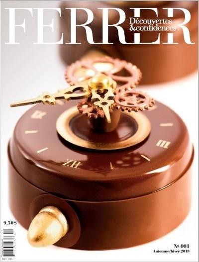 Le magazine « FERRER  –  Découvertes et confidences » (Groupe CNW/Jérôme Ferrer)