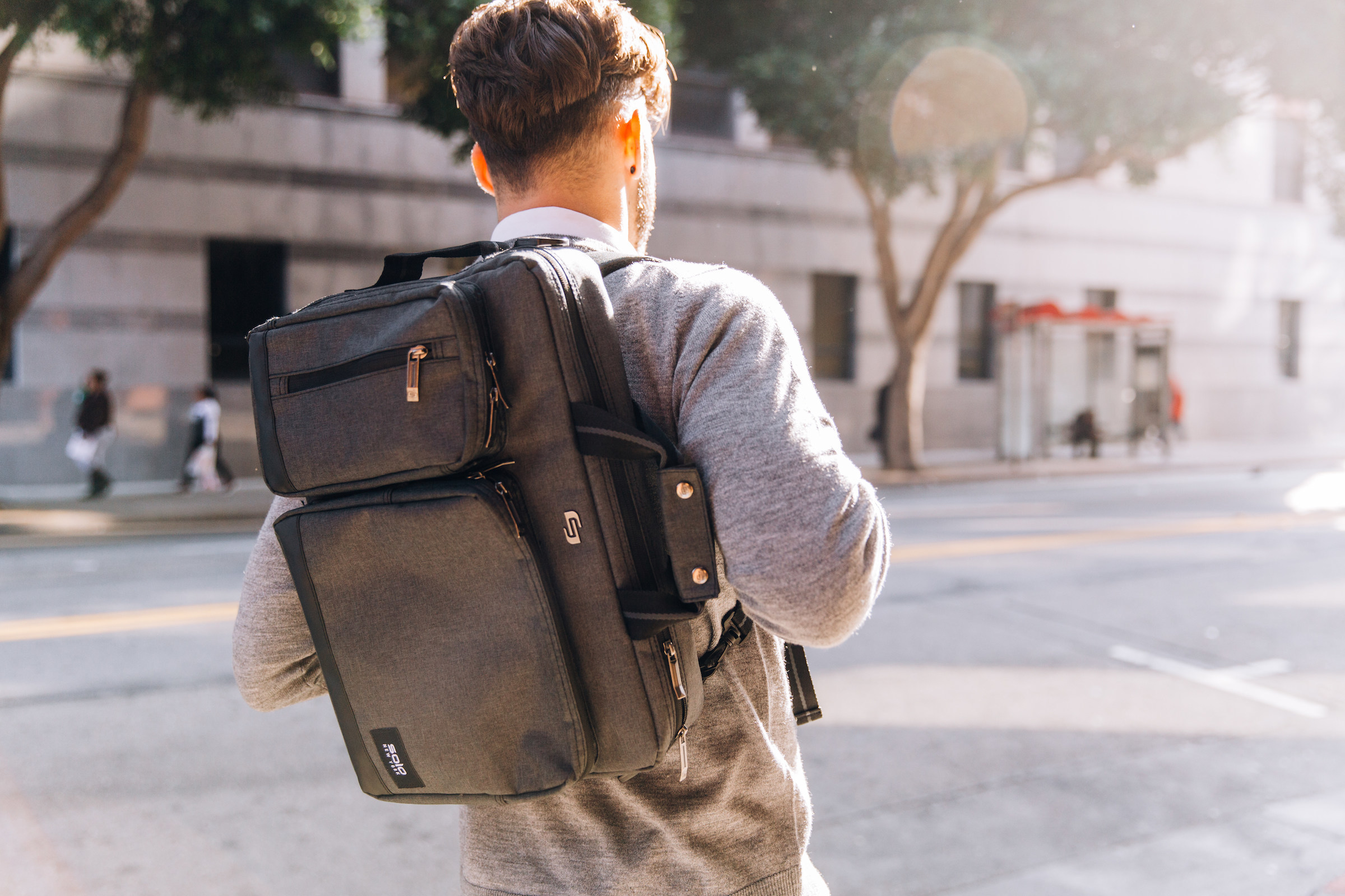 Solo New York S Duane Hybrid Now Top Selling Laptop Backpack In U S