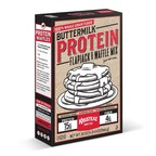 Hot Off The Griddle: Krusteaz Steps Up Pancake Game With Introduction Of New And Improved Buttermilk Protein Flapjack & Waffle Mix
