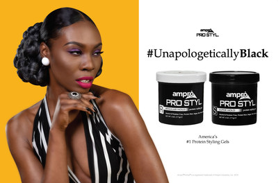 America's #1 Fastest Selling Protein Styling Gels are #UnapologeticallyBlack!