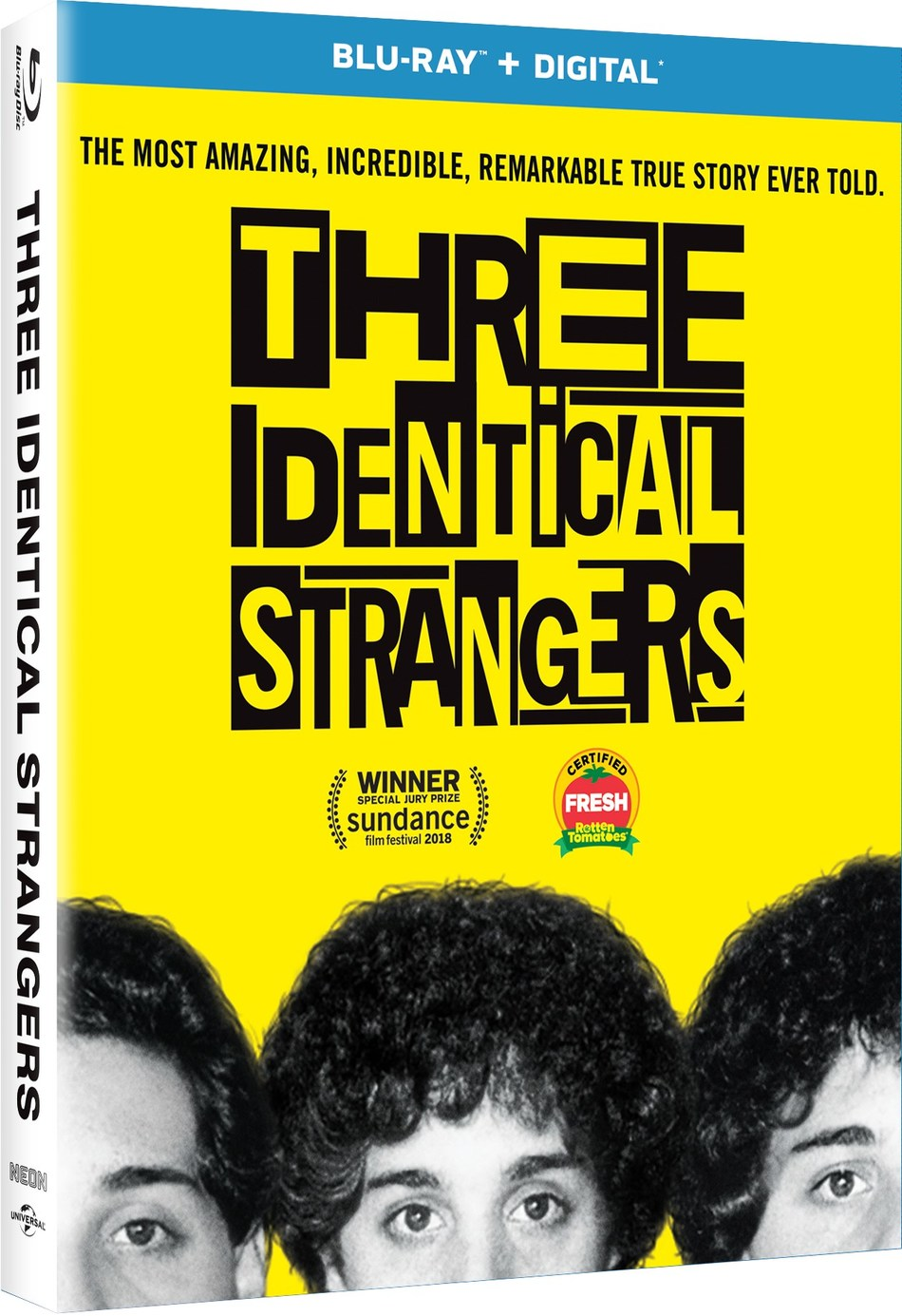 From Universal Pictures Home Entertainment: Three Identical Strangers