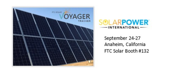 FTC Solar's Voyager tracker