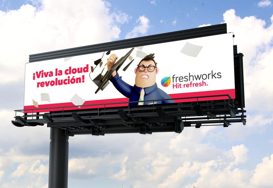 Hit refresh billboard