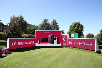 LG teams up with LPGA again as official sponsor of 2018 Evian Championship