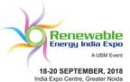 Renewable Energy India Expo 2018 Logo (PRNewsfoto/UBM India Pvt. Ltd)