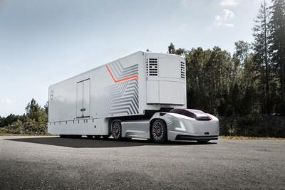 Volvo Trucks Presents Future Transport Solution With Autonomous Electric Vehicles