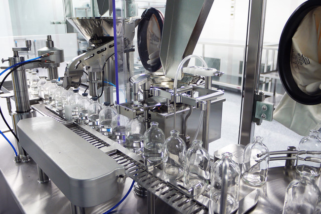 Aseptic Vial Filling (PRNewsfoto/PMI BioPharma Solutions)