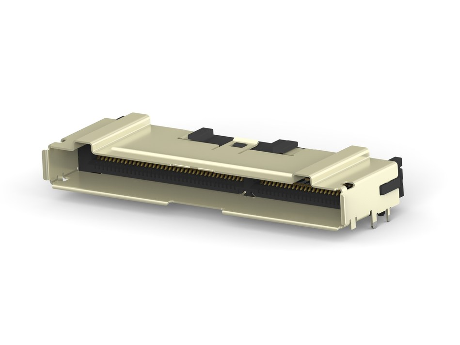 TE's 124 position Sliver connector eliminates the need for two separate connectors.