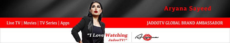 Welcome Aryana Sayeed as JadooTV Global Brand Ambassador