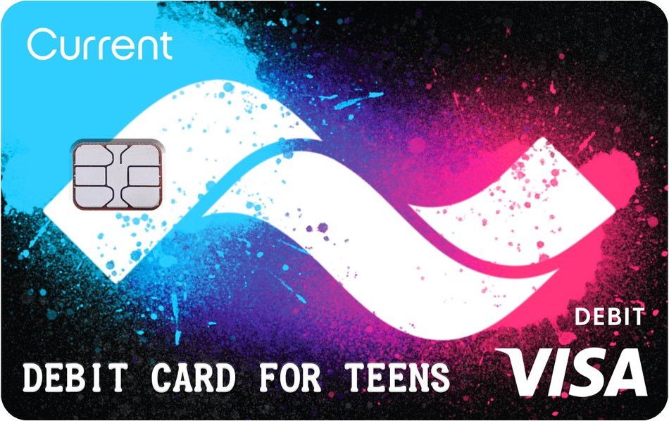 The Current Debit Card and App empowers teens to make the best financial decisions.