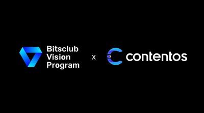 Le Bitsclub Vision Program établit un partenariat stratégique avec Contentos pour créer un écosystème de contenu mondial décentralisé (PRNewsfoto/Bitsclub Vision Program)