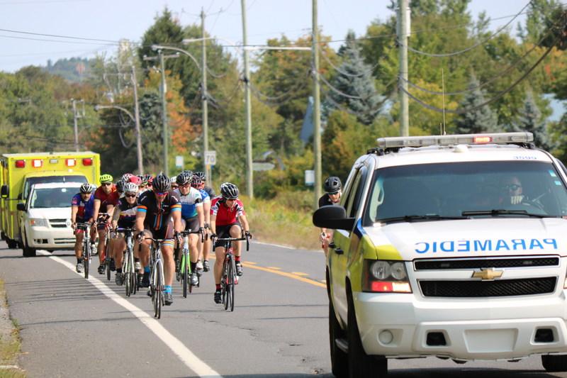 Photo prise lors de l'édition 2017. (Groupe CNW/Tour Paramédic Québec)