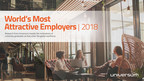 Universum Releases World's Most Attractive Employer Rankings 2018