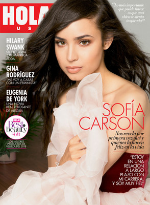 HOLA! USA portada de la edición de octubre