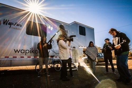 Wapikoni mobile, © Mathieu Buzzetti (CNW Group/Wapikoni mobile)