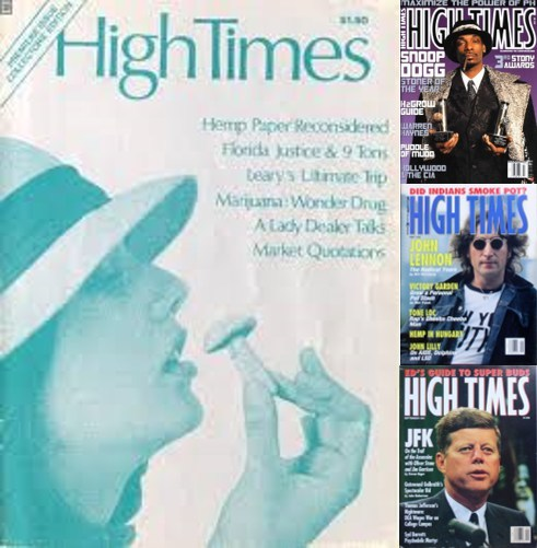 The Inner Spirit collection of High Times magazines will be on display at Spiritleaf stores across Canada. The collection includes the inaugural issue and other Timothy Leary first editions and limited collector magazines. Spiritleaf customers will be able to see the most memorable High Times magazine covers, featuring the coolest photographs, sexiest celebrity shots, and most innovative designs ever to hit newsstands. (CNW Group/Inner Spirit Holdings)