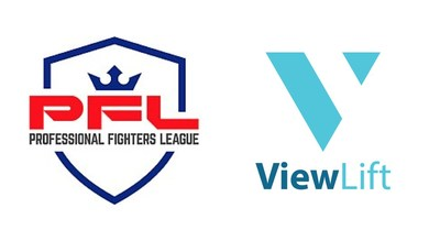 ViewLift and Professional Fighters League Logo