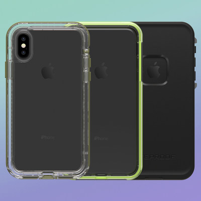 SLɅM, $49.99, and NËXT, $79.99, are available today for iPhone Xs and iPhone Xs Max and are coming soon for iPhone XR. FRĒ, $89.99, is coming soon for iPhone Xs, iPhone Xs Max and iPhone XR.