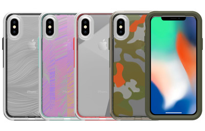 For the first time, LifeProof SLɅM will be available with an array of stylish clear graphics that complement any style while accenting the sleek lines of iPhone Xs, iPhone Xs Max and iPhone XR.