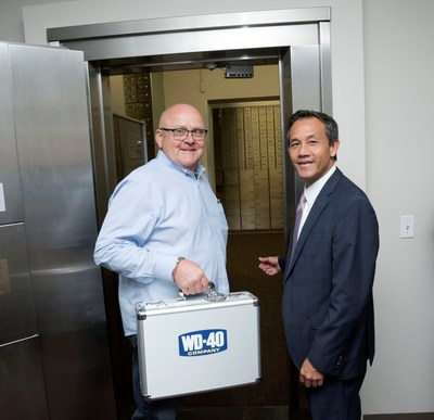 WD-40 Company moves top-secret formula to secure bank vault