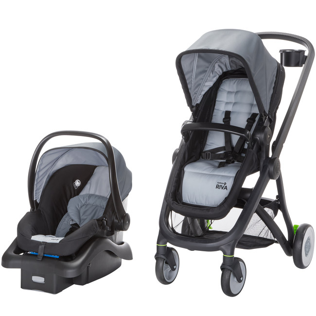 Available at Target, the 6-in-1 RIVA Flex Lightweight Travel System is an Affordable Option with Superior Safety and Flexibility Features.