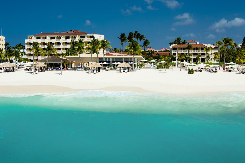 Bucuti & Tara Beach Resort is the Caribbean's first carbon neutral resort. As Aruba's premier adults-only boutique resort, it is serene and peaceful, perfect for honeymooners and couples looking for romance and relaxation.