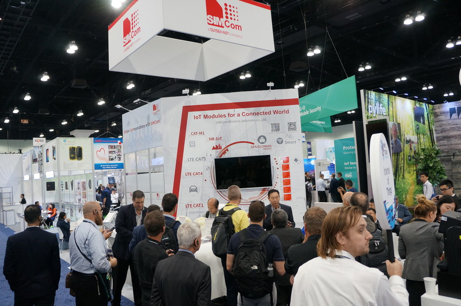 MWCA2018 SIMCom Booth Day One Overview at MWCA 2018