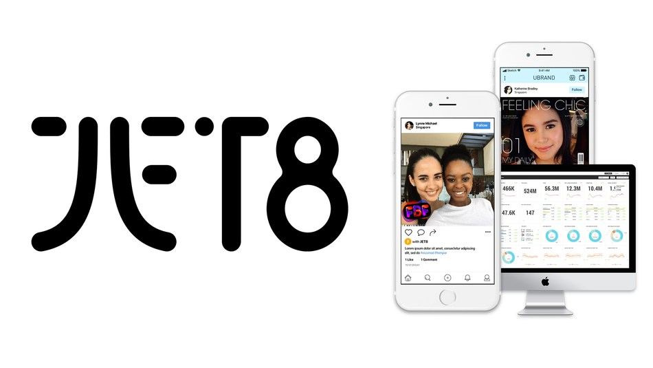 JET8: the first tokenised, peer-to-peer social engagement platform for brands, agencies, communities, and influencers. (PRNewsfoto/JET8 Foundation)