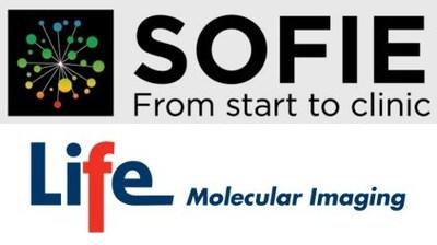 Company logos Sofie and Life Molecular Imaging