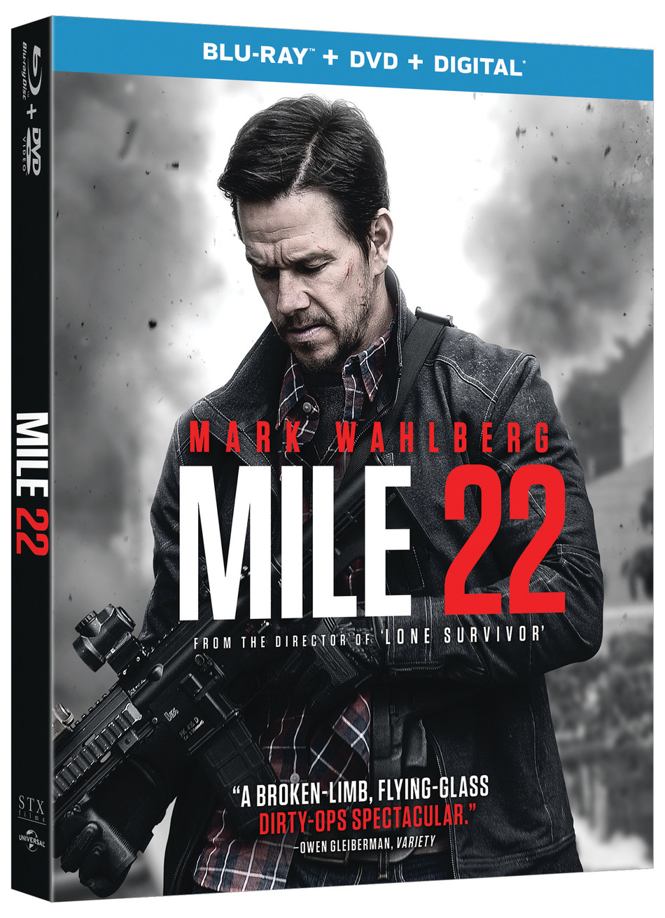 From STXfilms and Universal Pictures Home Entertainment: Mile 22