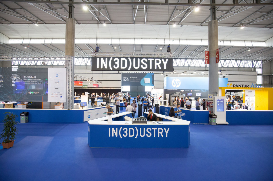 The latest 3D-printing medical applications brought together at IN(3D)USTRY (PRNewsfoto/Fira de Barcelona)