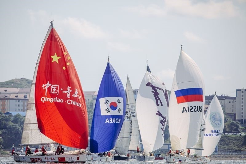 "Qingdao's Sailing Event, the Fareast Cup International Regatta, Wins ""Best Competition Organization"" Award, Putting China on the World Stage (PRNewsfoto/People's Government of Qingdao)"
