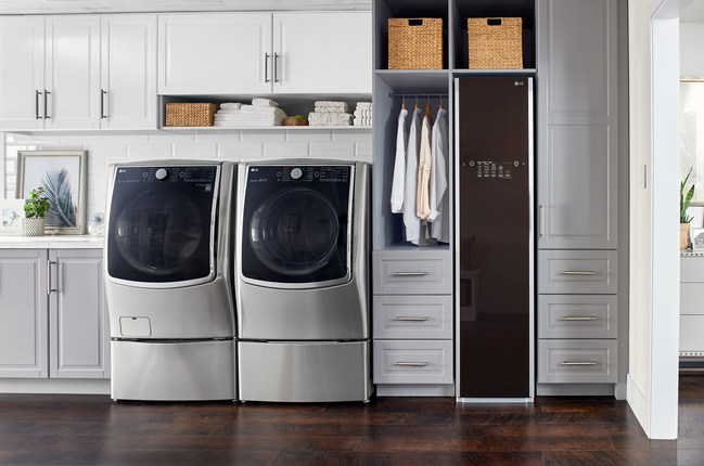 LG Electronics USA is upgrading its ultimate laundry room offering with the introduction of LG Styler with SmartThinQ™ (model no. S3RFBN) to its #1 ranked washers and dryers* for a laundry appliance portfolio that only LG can offer.