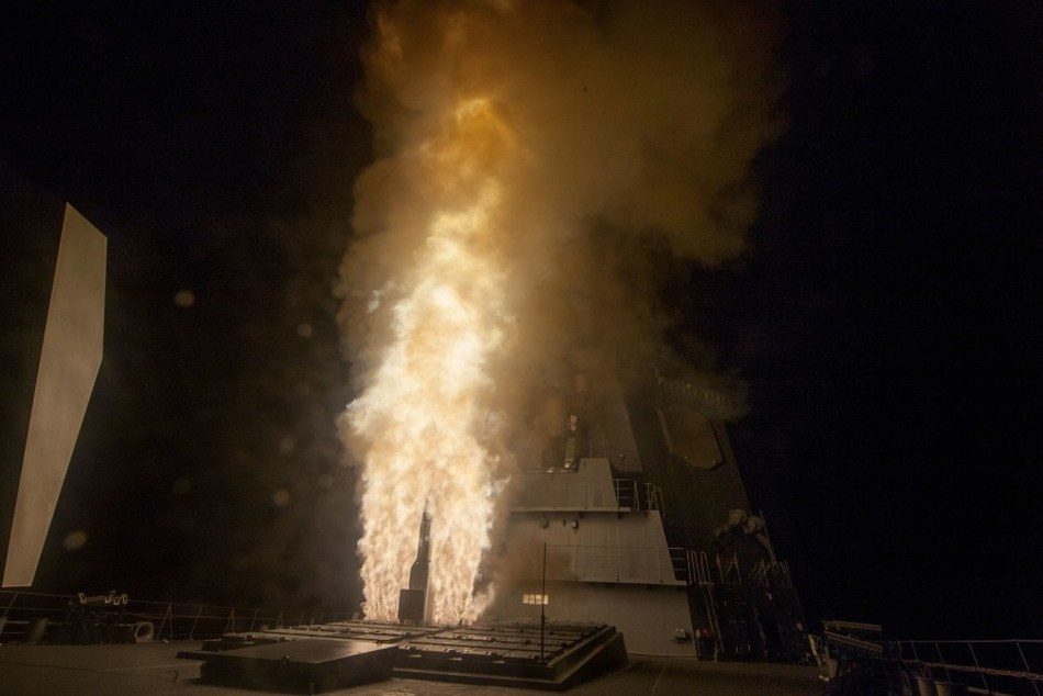 JS ATAGO (DDG-177) successfully completed an Aegis Ballistic Missile Defense (BMD) intercept flight test off the coast of Kauai, Hawaii, bringing BMD capability to the Japanese fleet. Photo courtesy of the Missile Defense Agency.