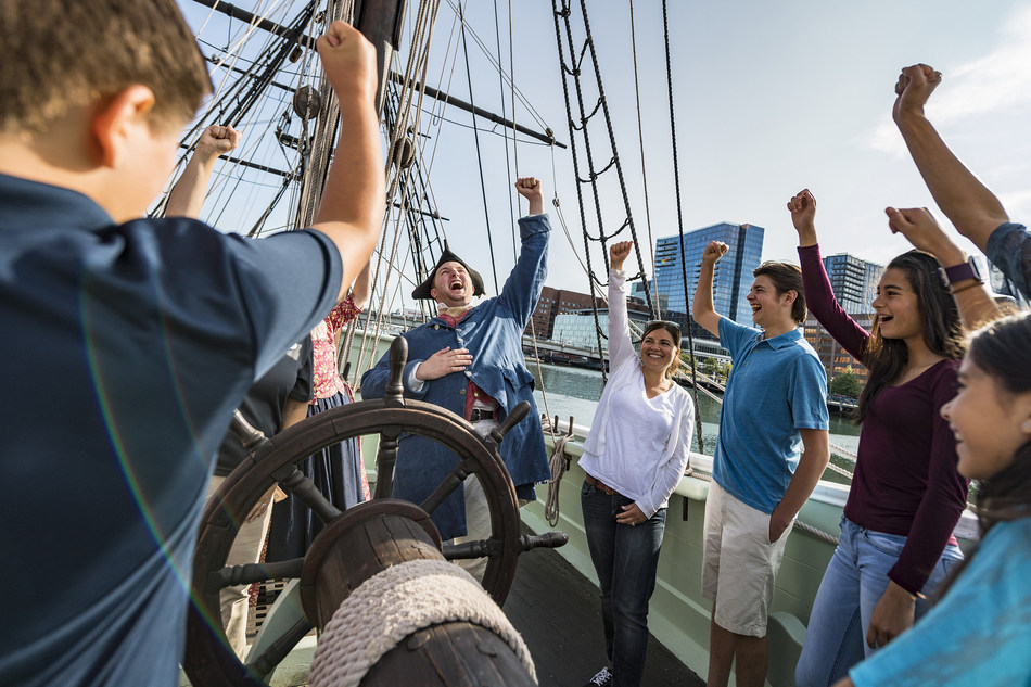 In 2019, Adventures by Disney will offer a brand-new Short Escape itinerary in Boston, where adventurers will be immersed in the city's legendary stories of the American Revolution during privately guided tours and interactive experiences. Other family-friendly excursions and activities include rowing along the Charles River, biking the city on a private sightseeing tour, exploring the grounds of Harvard Yard and indulging at a private New England clambake on Thompson Island. (Disney)