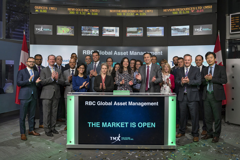 RBC Global Asset Management Opens the Market (CNW Group/TMX Group Limited)