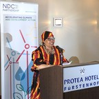 Deputy Minister of Namibia's Ministry of Environment and Tourism Bernadette Jagger