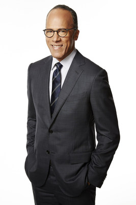 NBC NIGHTLY NEWS WITH LESTER HOLT -- Pictured: Lester Holt -- (Photo by: Mary Ellen Matthews/NBC)