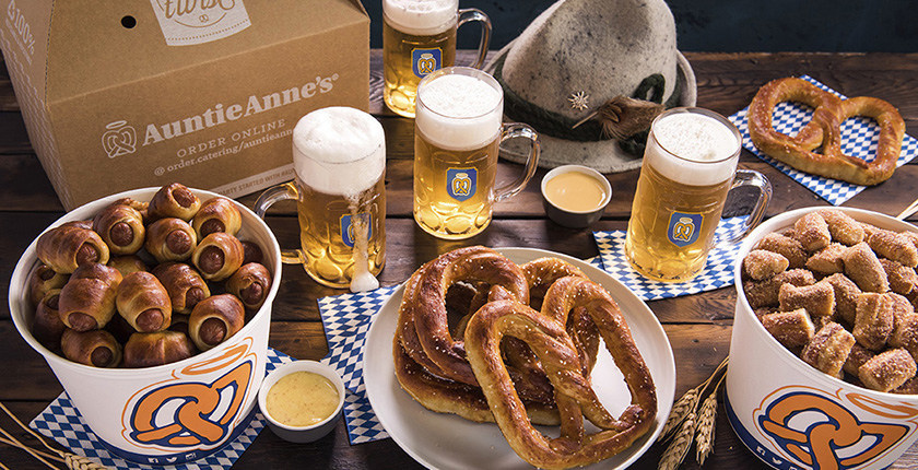 Auntie Anne's Prost Catering Package