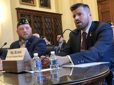 Today Wounded Warrior Project® (WWP) Legislative Affairs Director Jose Ramos testified before the House Committee on Veterans' Affairs, Subcommittee on Health,  on the issues facing warriors and their caregivers and what might be done to mitigate some of the challenges.
