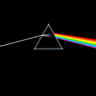 Pink Floyd, The Dark Side of the Moon (Côté obscur de la Lune), © Pink Floyd - Image par Hipgnosis