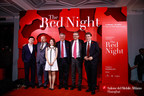 "Suning announced as the Main Strategic Partner to the 3rd Salone del Mobile.Milano Shanghai at ""The Red Night"""