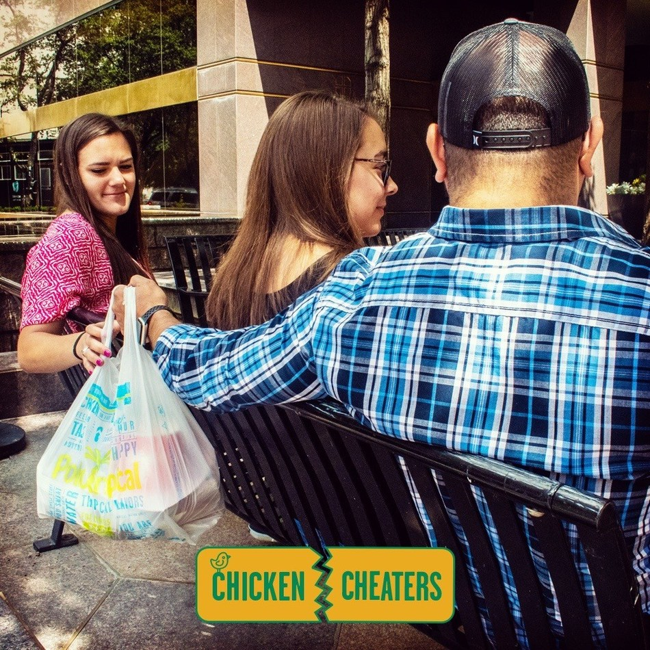 "Pollo Tropical®, famous for its 24-hour Citrus Marinated Chicken, has brought back its ""Chicken Cheaters"" promotion in honor of National Chicken Month. Guests can bring any competitor coupon to Pollo Tropical® on 9/15 from 2:00 p.m. to 7:00 p.m. and get a free Quarter Chicken with Rice & Beans Platter. #ChickenCheatersDay"