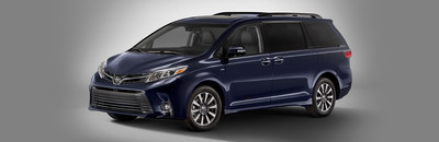 The 2018 Toyota Sienna features an impressive amount of storage space.