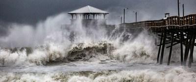 Hurricane Florence Hitting North Carolina