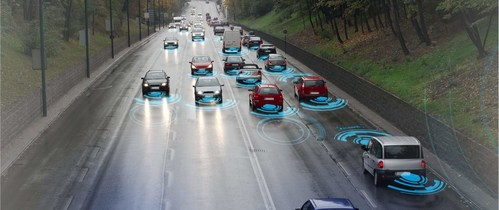 The intelligent transportation and car networking industry, which based on Internet of Things technology will provide a golden key to solving traffic problems. (PRNewsfoto/Org Comm of 2018 World IoT Expo)