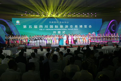 The 5th Sichuan International Travel Expo opens in Leshan, China